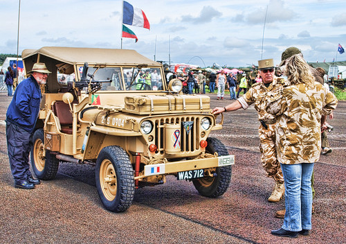WOODVALE RALLY 2010 ~ MILITARY VEHICLES : VIVE LA FRANCE.