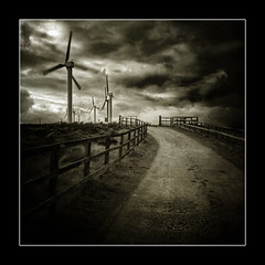 The road to power.. (jetbluestone) Tags: cloud storm art fence power wind lucis magiayfotografia thelittlebookoftreasures roadgrass