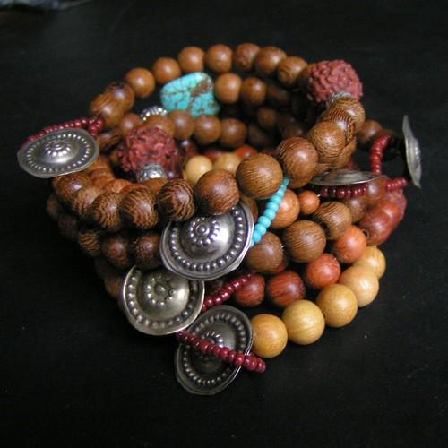 Relax_Rudraksha Mala Inspired Bracelet