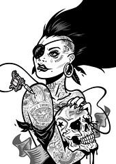 Black Romance (WinterArtwork) Tags: black tattoo romance
