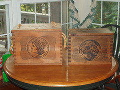 Mint Shipping Crates � believed to be modern fantasys.