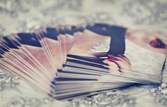 Day 225 of 365 (Adriana Glackin) Tags: selfportrait promotion canon postcard adriana photograph ribbon 365 50d avantcard project365