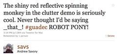 Clutter robot ponies