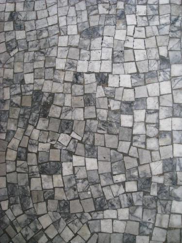 Gray Mosaic Tiles