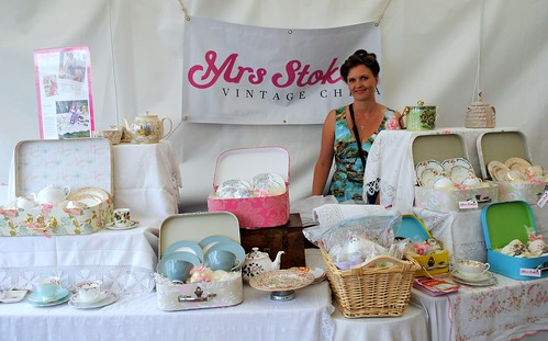 Mrs Stokes Vintage China @ Vintage at Goodwood