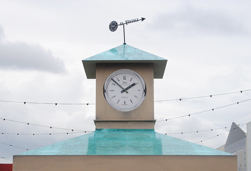 Clock Tower at Vintage at Goodwood