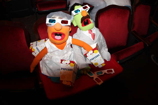 Luke & Suzanne's Muppet wedding