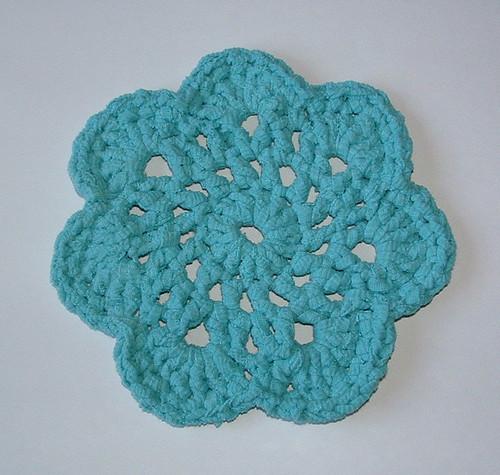T-Yarn Flower Trivet Hotpad