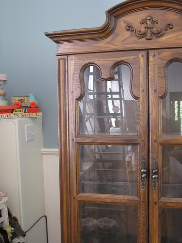 Un-Finished China Cabinet