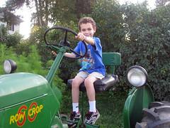 Aidan + Tractor