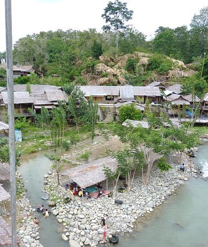 Bukit Lawang - Rivière