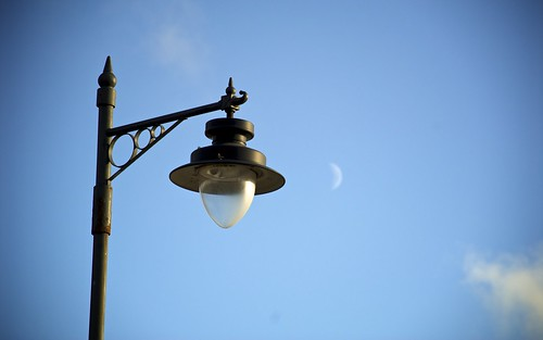 Lamp and Moon