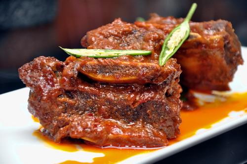 Braised beef ribs kuzi style