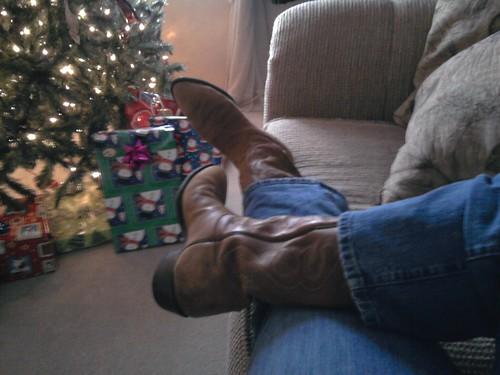 christmas cowboy boots missouri boonville size13 tonylama