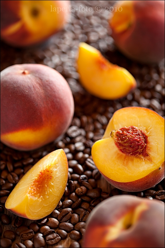 Peaches and coffee