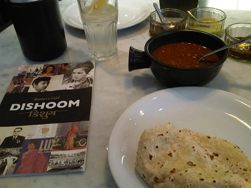 Dishoom Menu, Rumali Roti, House Dal