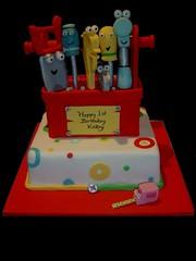 Handy Manny Tool Box (Make it Memorable) Tags: handy toolbox kidscake handymanny redtoolbox