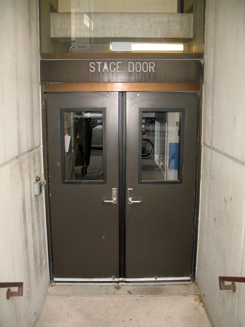 Stage Door, St. Lawrence Centre