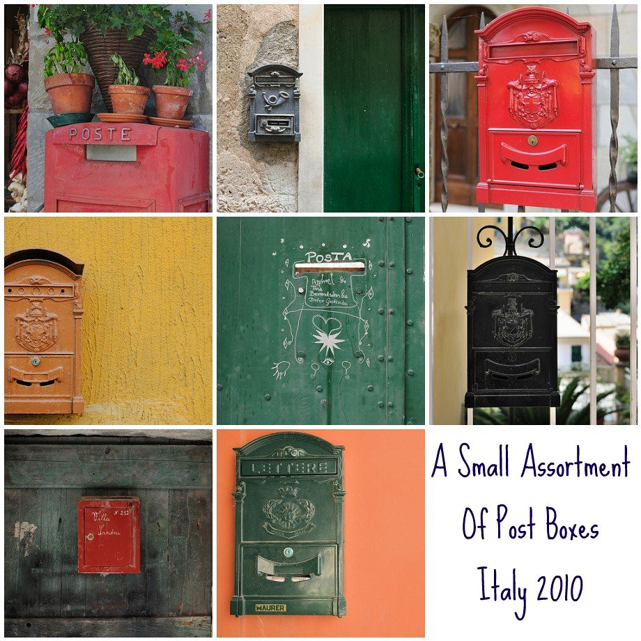Mosaic Monday - Post Boxes in Italy