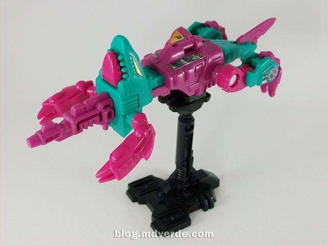 Transformers Overbite G1 Reissue - modo arma
