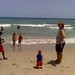 Juliana Carter Riley Cameron on the beach