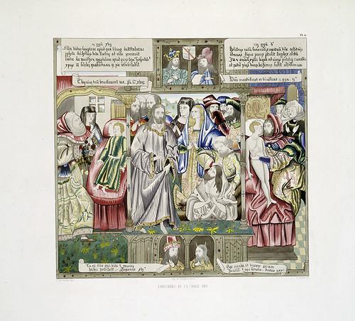 009-Tapiceria de la Chaise Dieu-Les anciennes tapisseries historiées…1838- Achille Jubinal