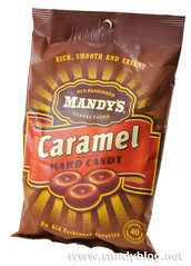Mandy's Caramel Hard Candy