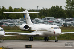 N540CH - 9055 - Private - Bombardier BD-700-1A10 Global Express - Luton - 100810 - Steven Gray - IMG_1284