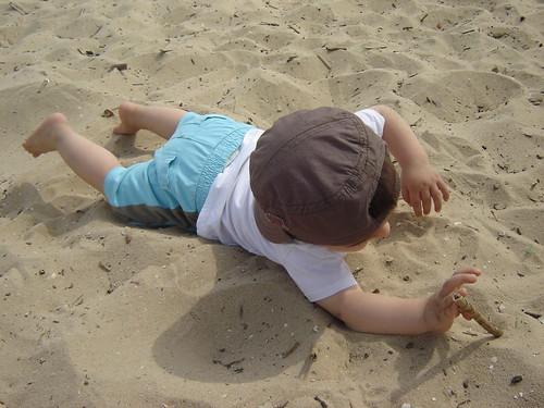 Simão na areia
