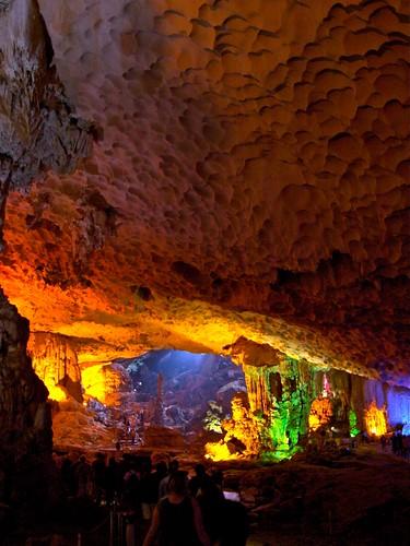 Amazing Cave, Halong Bay, Vietnam