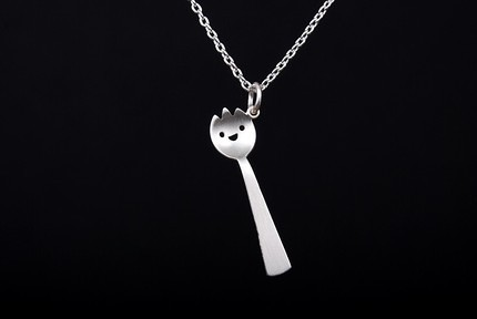 Spork Necklace by Mary Mary Handmade