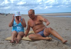 Huttoft - Sunbathing on a Lincolnshire Beach with my wife (pj's memories) Tags: male beach lincolnshire briefs slip trunks speedo brief speedos bulge tanthru huttoft bearinspeedos huskyinspeedos bearinbikinibrief