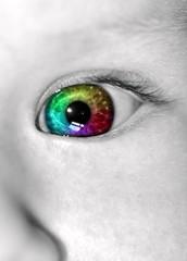 The Eye (RicHep) Tags: baby macro eye gimp