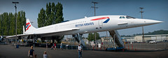 Concorde (BHCMBailey) Tags: museum aviation flight jet concorde boeing airliner supersonic bfi kfbi
