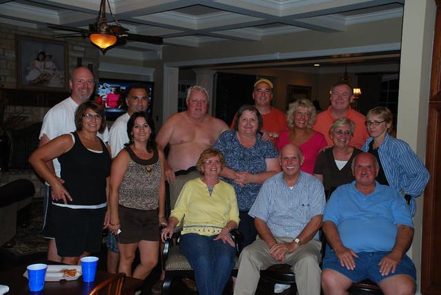 Hall family grown-ups