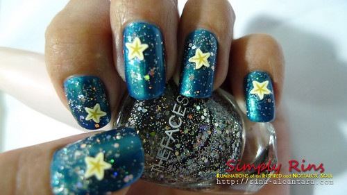 Nail Art Starry Starry Night 02