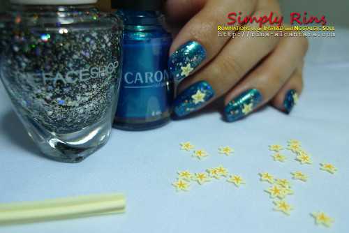 Nail Art Starry Starry Night 03