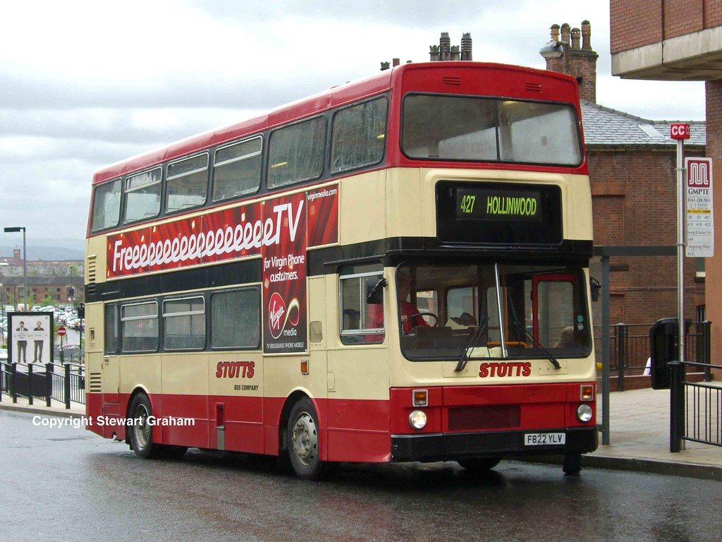 Stotts Metrobus F822YLV