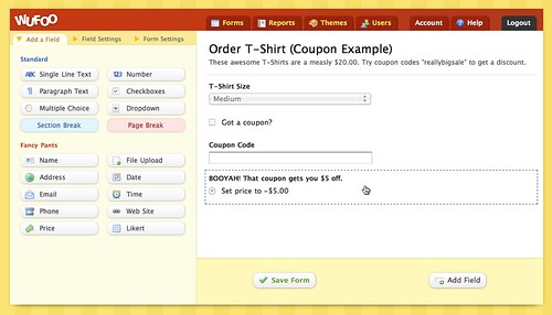 How to Create a Coupon System for Your Wufoo Payment Forms