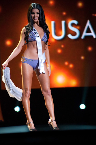Miss USA 2010 Rima Fakih in swimsuit