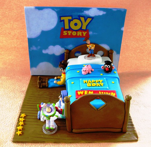 Toy Story 3 Themed 3D Cake