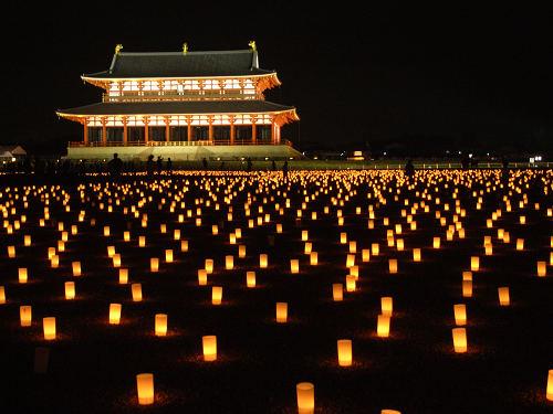 平城遷都1300年祭『夏季フェア 光と灯りのフェア』