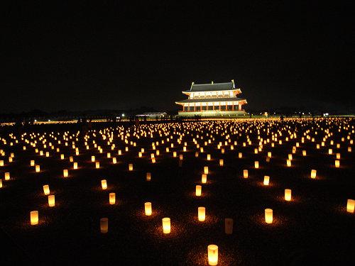 平城宮跡夏季フェア「光と灯りのフェア」-19
