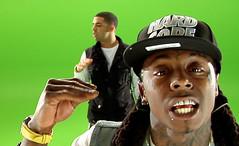 Drake & Lil Wayne Miss Me video shoot pictures