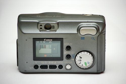 Canon Powershot A40