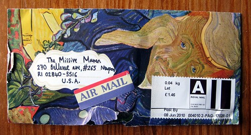Van Gogh air mail plus rip
