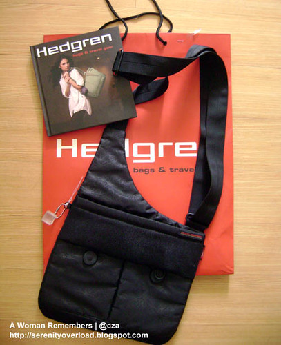 hedgren bag, shoulder bag, posh, bratpack