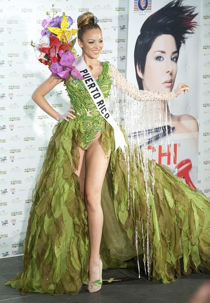 National Costume of Miss Puerto Rico