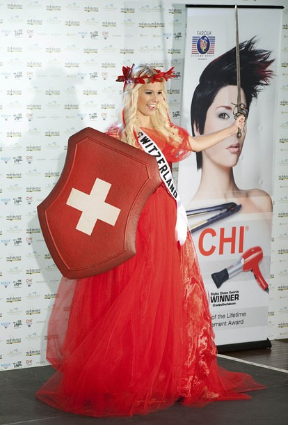 National Costume of Miss Switzerland
