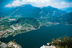 Lake Garda Vista from Mountain